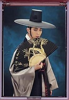 イ?ジュンギ 韓国製 手鏡 ミラー 開閉式 Z1 夜を歩く士