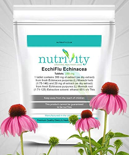 Echiiflu_Echinacea 250mg Tablets Cold Flu Inflammations Supplement by Nutrivity (120)