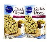 Pillsbury Cranberry Quick Bread Mix, 15.6 oz, 2 pk