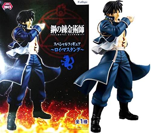 JAPAN OFFICIAL Figuras Fullmetal Alchemist Roy Mustang Special 20cm Full Metal Almas furyu # 1