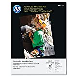 HP : Glossy Advanced Photo Paper, 5 x 7, 60 Sheets per Pack -:- Sold as 2 Packs of - 60 - / - Total of 120 Each