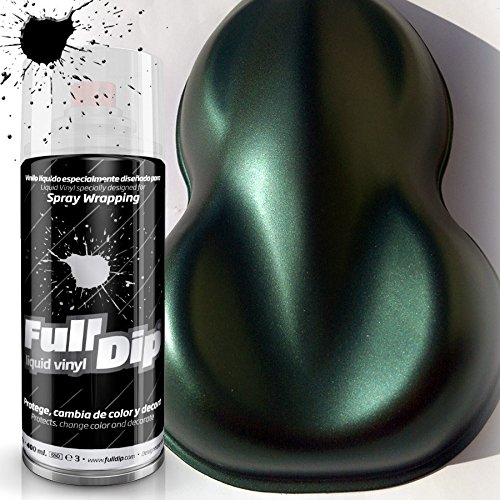 FullDip FLD924 Vinilo Líquido, Verde Intenso Candy, 400 ml
