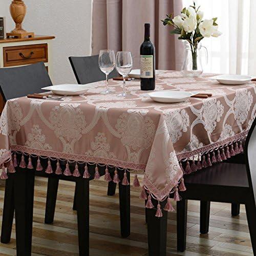 Europ che Tischdecke Tischdecke Rechteck EuropäischenTee Tisch Eine Lange Tischdecke Wohnzimmer Tischdecken (Farbe   C, Größe   140  240cm)
