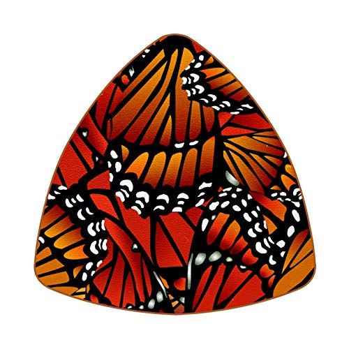 Monarch Butterfly Pattern Wings Set of 6 Home Drink Coasters, Mug, Bottle, Mug, Coffee, Beer