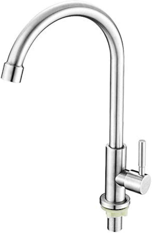 Gebürstetem 304 Edelstahl Küchenarmatur heies und kaltes Wasser Einhebelmischer 360 Grad drehbar Spültischmischer
