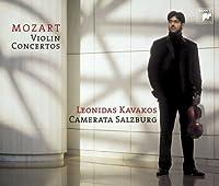 MOZART: VIOLIN CONCERTOS 1-5/SYM 39(2CD) by LEONIDAS KAVAKOS (2006-11-01)