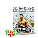 Rocka Nutrition STRONG Kreatin Vitamin K2+D3 Magnesium und Zink speziell für eine vegane Ernährung Spinatextrakt Creatin (Strawberry Apple Drops)