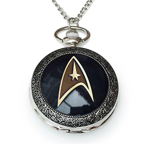 Orion Creations Star Trek Pendant Uhr Halskette. Trekkie