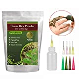 Pure Henna Powder with Applicator Bottle and Mehandi Oil for DIY Art painting(Brown Color),50 grams