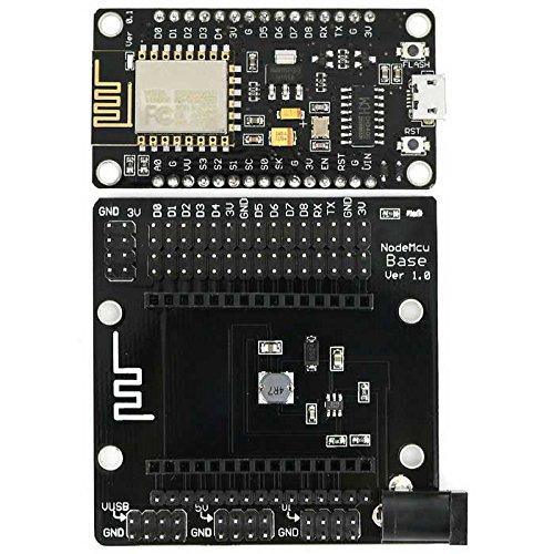 DANJIA LDTR-WG0136 ESP8266 ESP-12E Tarjeta de Desarrollo Módulo WiFi en Serie con Placa de expansión IC + IO CH340G incorporada