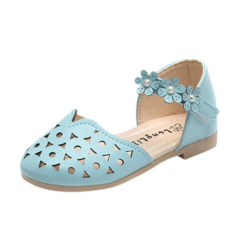 [Kukiwa] 春夏かわいい 小さな子供靴 透かし彫り サンダル靴 カジュアルシューズ 滑め防ぐ靴 シューズ 女の子 シューズ 可愛い子供靴 履き脱ぎやすい 通学 誕生日プレゼント