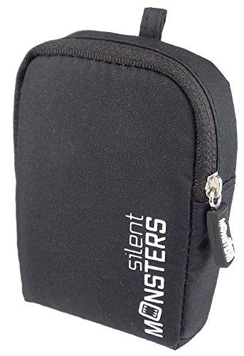 Silent Monsters Kameratasche für Kompaktkameras, schwarz