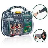 16pcs Kinder-Werkzeug-Set mit Power Toy Drill Spielzeug-Werkzeug-Set Pretend Play Aufbau-Spielzeug-Kind-Geschenk Pretend Play Construction Werkzeug