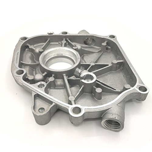 Shioshen cárter cigüeñal lado caja cubierta de colector de aceite para HONDA GX160 GX200 168F 5.5HP 6.5HP motor del generador gasolina Motor