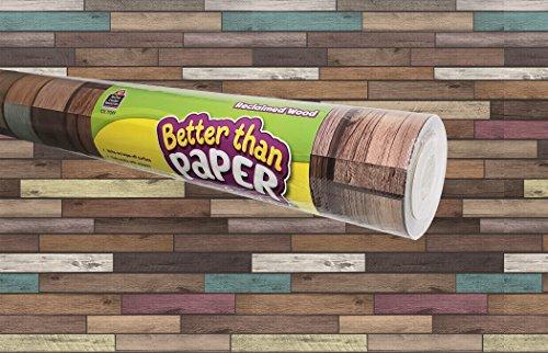 Teacher Created Ressourcen wieder Holz besser als Papier Bulletin Board Rolle (tcr77399)