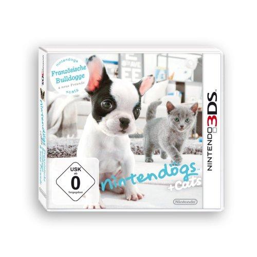 Nintendogs + Cats - Französische Bulldogge & neue Freunde 3D [3DS]