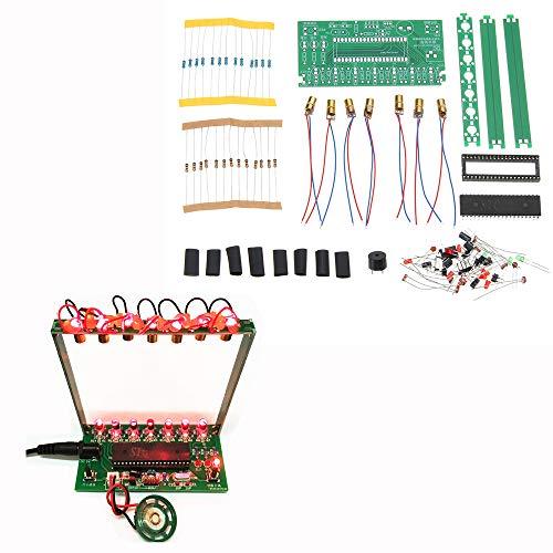 ILS - DIY Single Chip Microcomputer Laser Harp Kit Electronic Piano Music Box