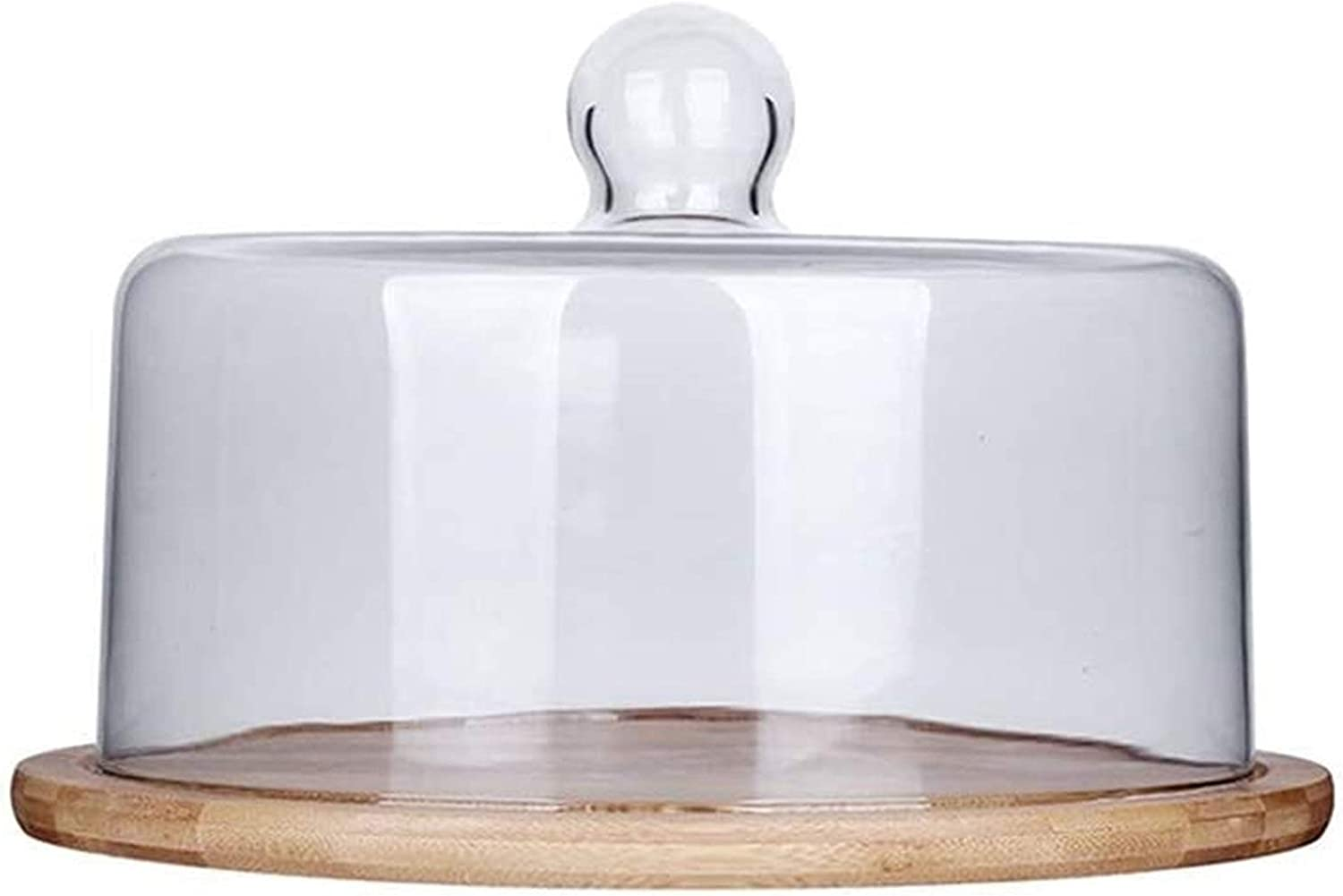 Cake Plate for Display Great interest Stand with Glass Transparent Max 42% OFF C Dome