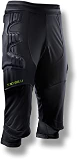 Storelli ExoShield Goalkeeper 3/4 Pants |Athletic  Pants |Anti-Bacterial & Turf Burn|Sweat-Wicking|Black