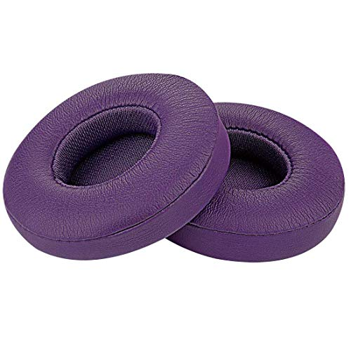 Aiivioll Solo2 Earpads Replacement Ear Pads Protein PU Leather Ear Cushion...