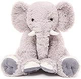Beofine Poupée en Peluche Éléphant pour Enfants, 19,6 Pouces en Peluche Éléphant Animal Doux Géant Éléphant en Peluche Cadeau Éléphant Rose Peluche Peluche pour Les Filles Bébés Garçons Grey