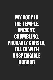 my body is a temple joke