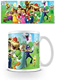 Nintendo Super Mario Mushroom Kingdom Ceramic Mug