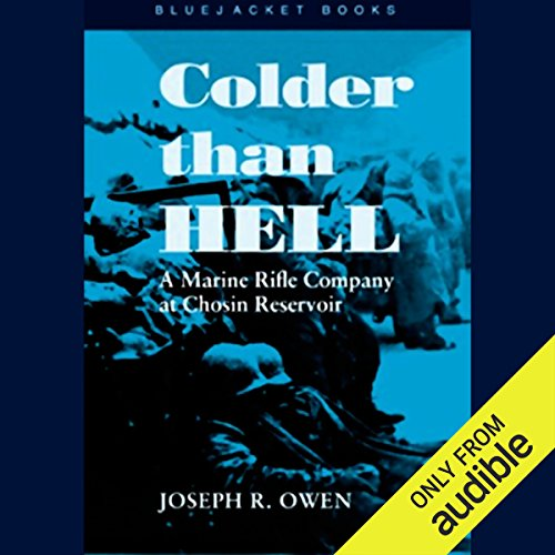 Colder than Hell audiobook cover art