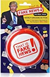 Donald Trump Fake News Button - 11 Fake News Quotes In Real Voice - Talking Gag Gift Desk Item - Gag Accessories Gifts for Men and Women - Funny Merchandise Stuff - Batteries Included
