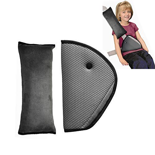 Protection à placer sur les ceintures de sécurité pour les enfants - Coussinets d'épaule et support de cou - Infreecs