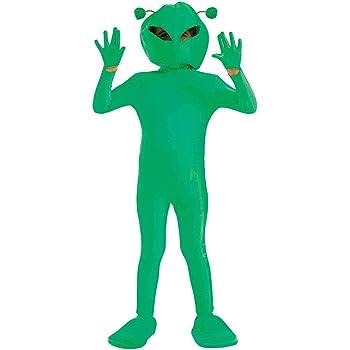 Fun Shack Verde Extraterrestre Disfraz para Niños y Niñas - M ...