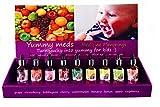 Pharmacy Flavor Vial Flavoring Drops Yummy Meds for Child Kids Bad Tasting Medicines (Strawberry)