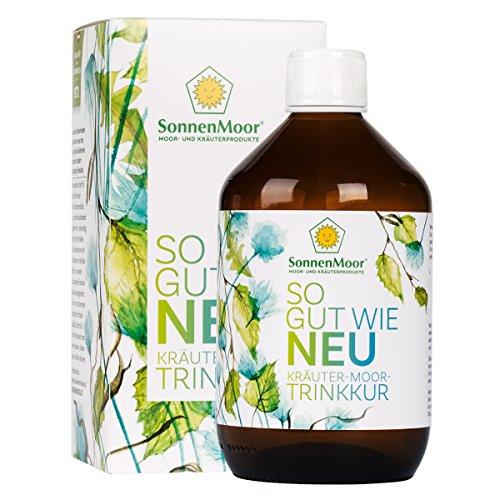 SonnenMoor So gut wie Neu Trinkkur, 20 Tage Trinkkur zum Einnehmen - in 500ml bestehend aus Moor und Kräutern