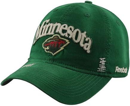 on sale e181f cdfec Minnesota Wild Slouch Strap Back Reebok Hat - ER82Z