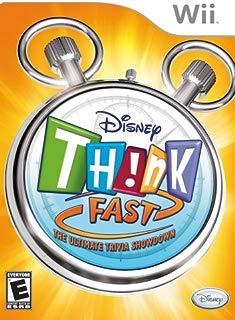 Disney Think Fast - Nintendo Wii