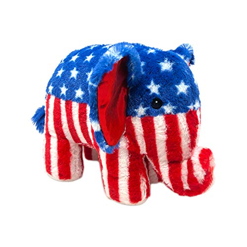 10.5' Stars N' Stripes Plush Elephant by RGU