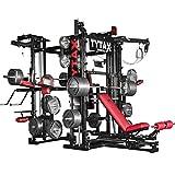 Tytax T3-X, la migliore attrezzatura per la palestra in casa, sistema completo, free weight, cavo multi stazione universale, sollevamento pesi, allenamento, Smith machine
