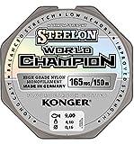 Konger Angelschnur World Champion Fluorocarbon Coated 0,10-0,30mm/150m Monofile Schnur super stark ! (0,25mm / 8,70kg)