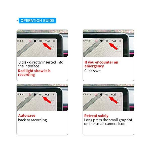 dashcam flash drive for tesla model y/3/s/x sentry mode pre-configured, fast, slc usb drive for tesla model 3/s/x/y – 32…
