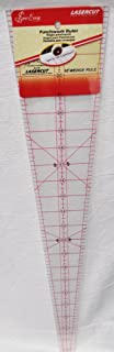Sew Easy 22 1/2 x 4 7/8 10 Degree Patchwork Wedge Ruler NL4185