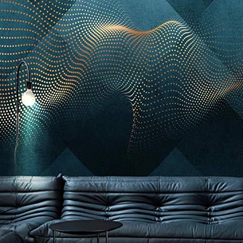 Fotobehang op maat 3D niet-geweven stof milieuvriendelijk en duurzaam behang muursticker-donkerblauwe sterrenbeeld decoratie 400(w)x280(H)cm