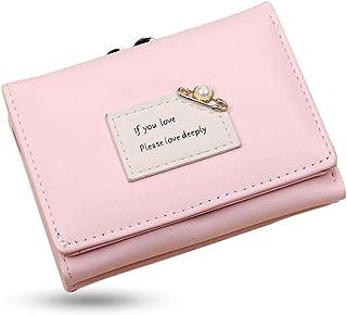 MOCA Pink PU Leather Women's Wallet (MV626A)