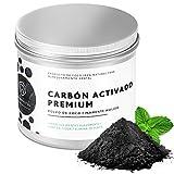 Branqueador de dentes de carvão activado TrendVital 50 gramas - Pó de carvão activado fino para dentes brancos - Branqueador de dentes de carvão activado, branqueador 100% natural por Tillmanns®.