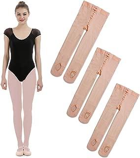 iMucci Ballet Dance Tights - Velet Convertible Ballerina Dancing Stockings