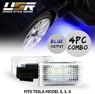 BRIGHTEST Ocean Blue USR Edition x4 PCS LED Interior Light Fit For TESLA Model 3, Model S, Model X