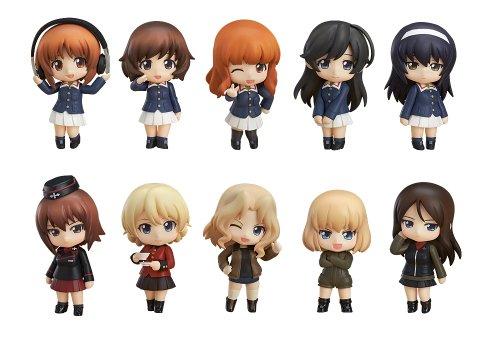 Nendoroid Petit Girls & Panzer (non-échelle ABS et PVC peint figurine commercial 12 pièces BOX)