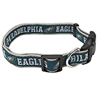 Pets First NFL Philadelphia Eagles Pet Collar, Small