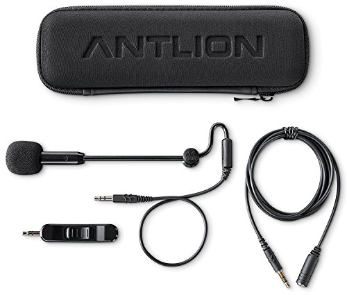 Antlion Audio ModMic 5 - Modular Attachable Boom Microphone with Noise Canceling and Omni-Directional Audio