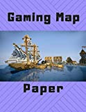 Gaming Map Paper: 1 Inch Hexagonal Grid Paper Large Hexagons: 8.5' x 11' Graph Paper Notebook 1 Inch Hexagons 125 Pages for Fantasy Role ... (One Inch) with 1/2 (Half-Inch) Sides