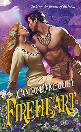 Fireheart (Zebra Splendor Historical Romance) by [Candace McCarthy]